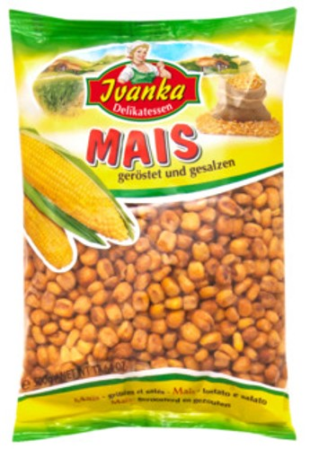 Grain of maize salted 500g Ivanka