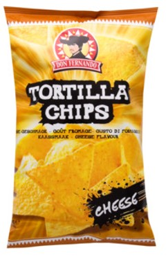 Tortilla Chips cheese 200g package Don Fernando