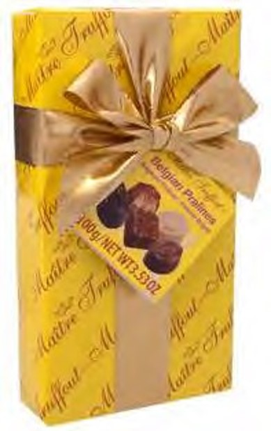 Assorted pralines gift package 100g Maître Truffout