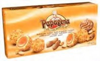 Waferballs with creamfilling and granulated peanuts 125g Papagen