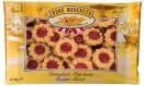 Crispy biscuit with sour cherry flavoured stuffing 450g Fine Bis