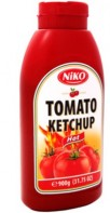 Ketchup Hot 900g bottle Niko