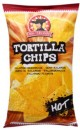 Tortilla Chips hot with chili flavour 200g package Don Fernando