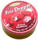 Fine Drops cherry 200g tin Woogie