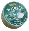 Fine Drops mint 200g tin Woogie