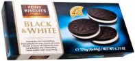 Cocoa cookies black & white 176g Feiny Biscuits