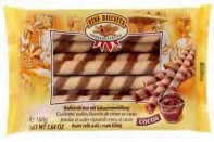 Wafer rolls cocoa 160g Fine Biscuits