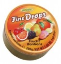 Fine Drops fruit 200g tin Woogie