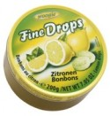 Fine Drops lemon 200g tin Woogie