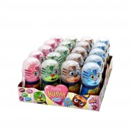 Cutie Katty Lollipop & Powder 20x35g counter display